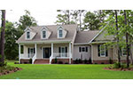 Traditional House Plan Front Photo 01 - Haddonfield Country Home 077D-0097 | House Plans and More