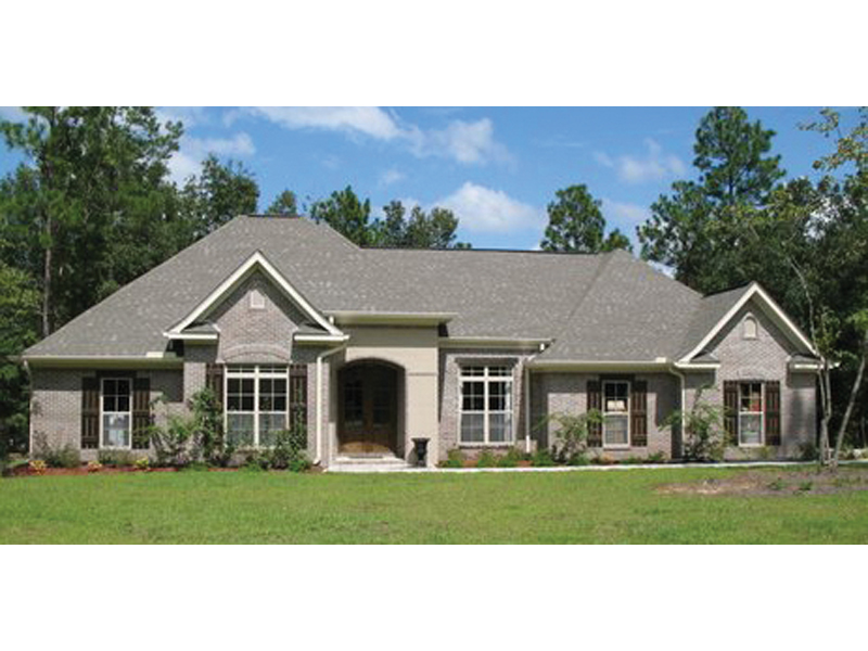 Anastasia European Ranch Home Plan 077D-0113 | House Plans ... on house front entry designs, french country exterior home designs, modern front door designs, front entrance patio designs, home with courtyard entrance designs, italian home front entrance designs,
