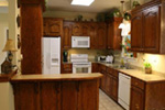 Craftsman House Plan Kitchen Photo 01 - Ridgeforest Craftsman Home 077D-0138 | House Plans and More