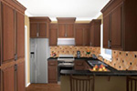 Craftsman House Plan Kitchen Photo 03 - Ridgeforest Craftsman Home 077D-0138 | House Plans and More