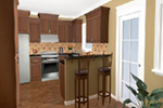 Craftsman House Plan Kitchen Photo 04 - Ridgeforest Craftsman Home 077D-0138 | House Plans and More