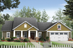 House Plan Front of Home 077D-0163