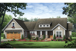 House Plan Front of Home 077D-0165