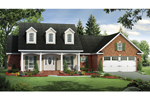 House Plan Front of Home 077D-0177