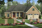 House Plan Front of Home 077D-0194