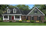 House Plan Front of Home 077D-0199