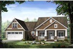 Country House Plan Front of Home - Westwood Lane Cottage Home 077D-0248 | House Plans and More