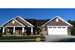 Craftsman House Plan Front Photo 01 - Westwood Park Country Home 077D-0252 | House Plans and More