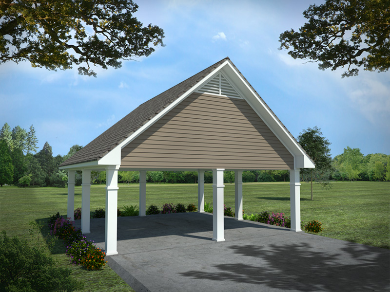 Country House Plan Garage Photo - Williamsberg Country Home 077D-0259 | House Plans and More