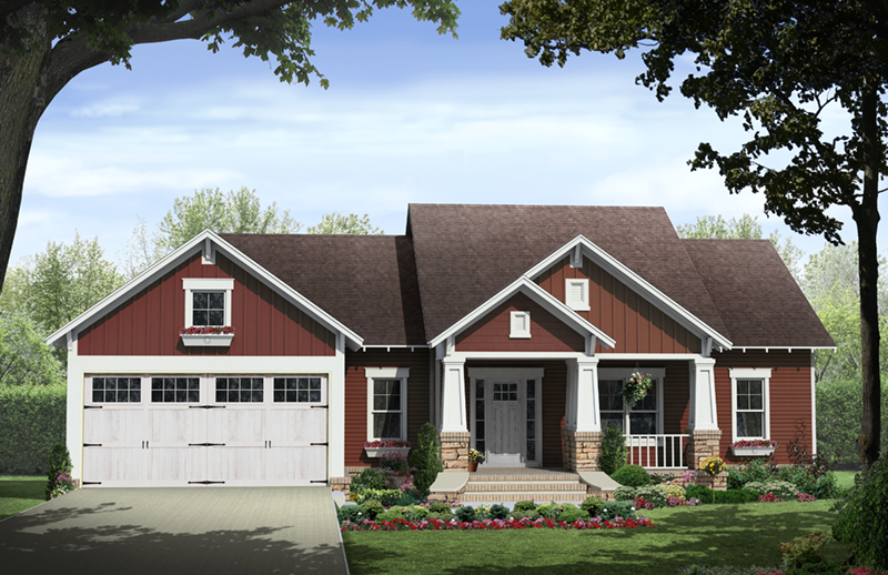 Paxton Hill Country Home Plan 077D-0260 | House Plans and More on