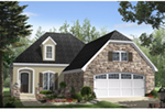 European House Plan Front of Home - Cambridge Lane European Home 077D-0267 | House Plans and More