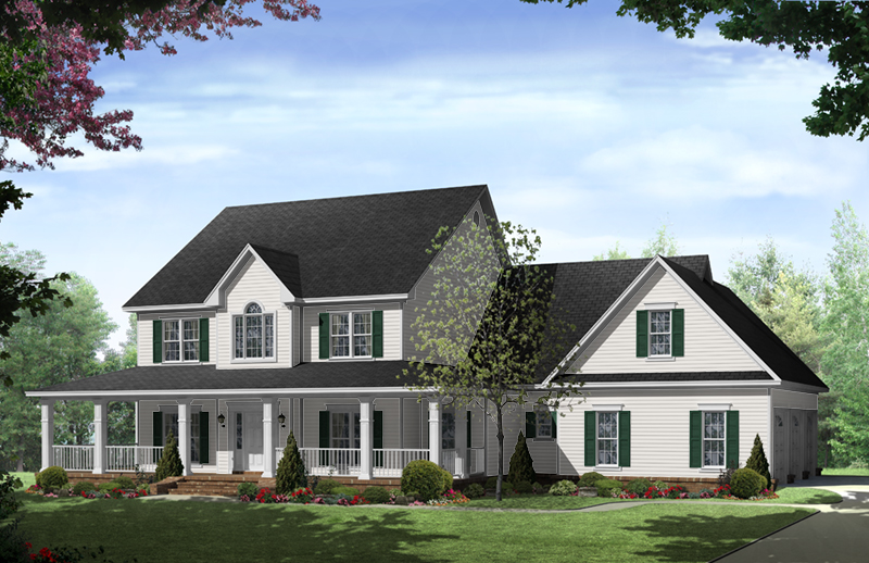 Stonewood Lane Country Home Plan 077D-0283 | House Plans and