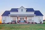 Southern House Plan Front of Home -  077D-0293 | House Plans and More