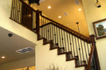 Country House Plan Stairs Photo - Monticello Waterfront Home 080D-0003 | House Plans and More