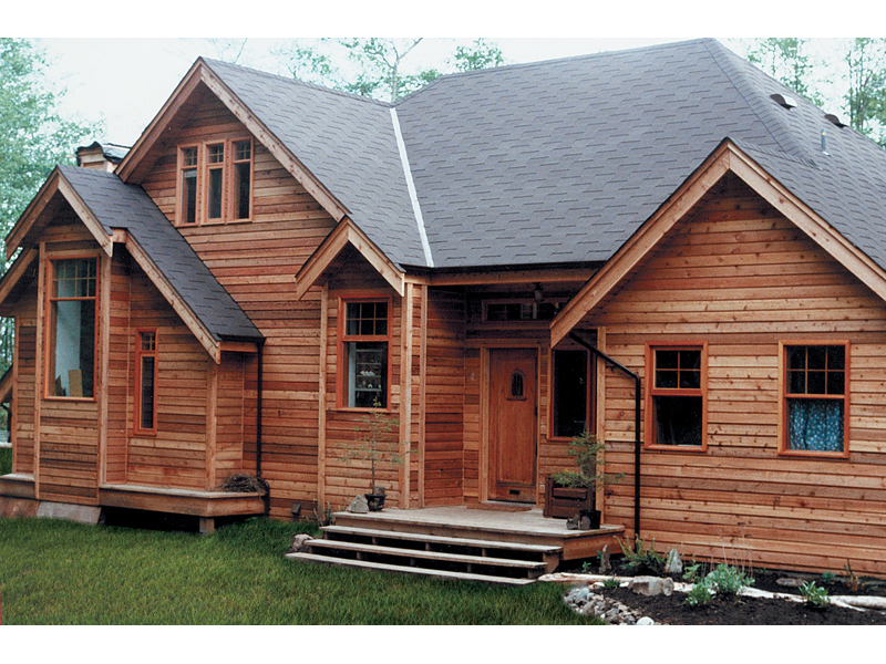 Sherry Rustic Log Home Plan 080D-0006 | House Plans and More