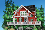 House Plan Front of Home 080D-0011