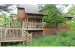 Ranch House Plan Deck Photo 03 - Adirondack Rustic Dream Home 080D-0012   House Plans and More