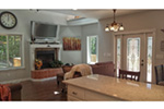 Ranch House Plan Family Room Photo 05 - Adirondack Rustic Dream Home 080D-0012   House Plans and More