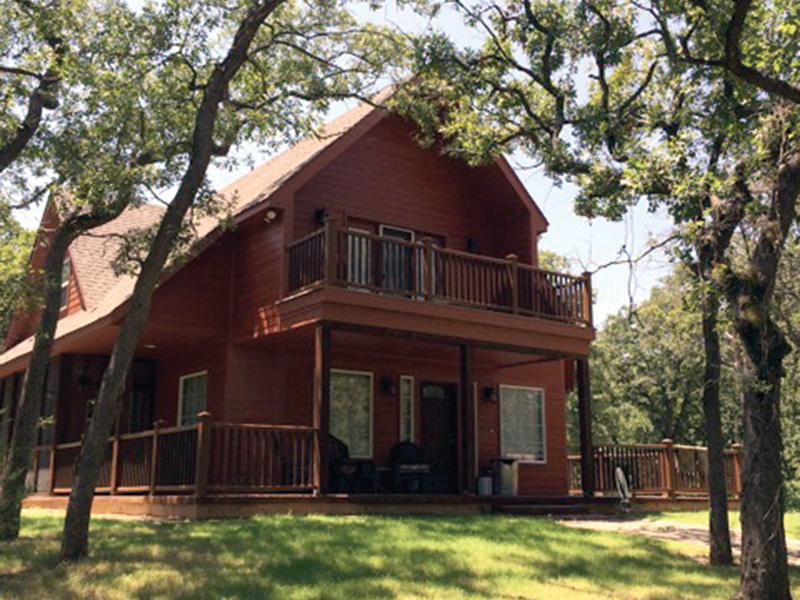 Ranch House Plan Front Photo 10 - Adirondack Rustic Dream Home 080D-0012   House Plans and More