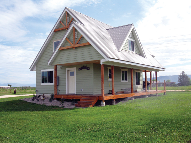Ranch House Plan Front Photo 02 - Adirondack Rustic Dream Home 080D-0012   House Plans and More