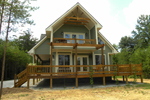 Ranch House Plan Front Photo 03 - Adirondack Rustic Dream Home 080D-0012   House Plans and More