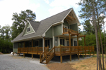 Ranch House Plan Front Photo 04 - Adirondack Rustic Dream Home 080D-0012   House Plans and More