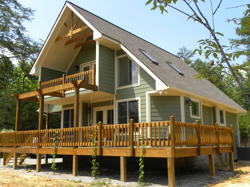 Ranch House Plan Front Photo 05 - Adirondack Rustic Dream Home 080D-0012   House Plans and More