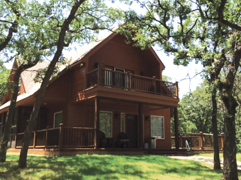 Ranch House Plan Front Photo 07 - Adirondack Rustic Dream Home 080D-0012   House Plans and More
