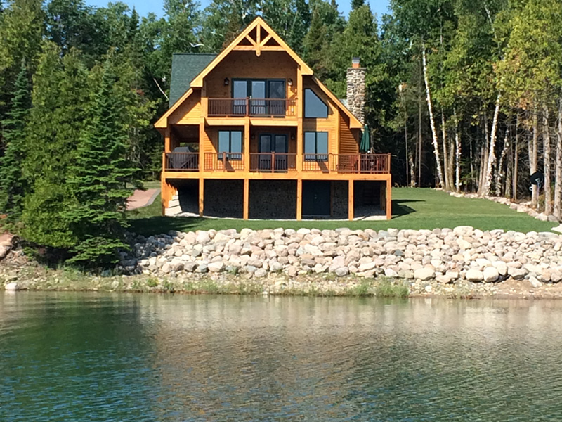 Ranch House Plan Lake Photo - Adirondack Rustic Dream Home 080D-0012   House Plans and More