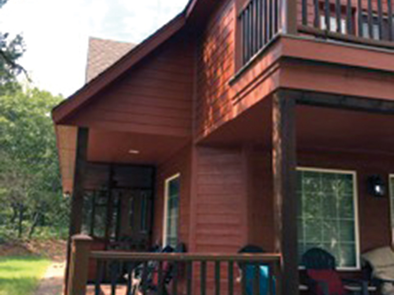 Ranch House Plan Porch Photo 01 - Adirondack Rustic Dream Home 080D-0012   House Plans and More