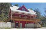 Ranch House Plan Rear Photo of House - Adirondack Rustic Dream Home 080D-0012   House Plans and More