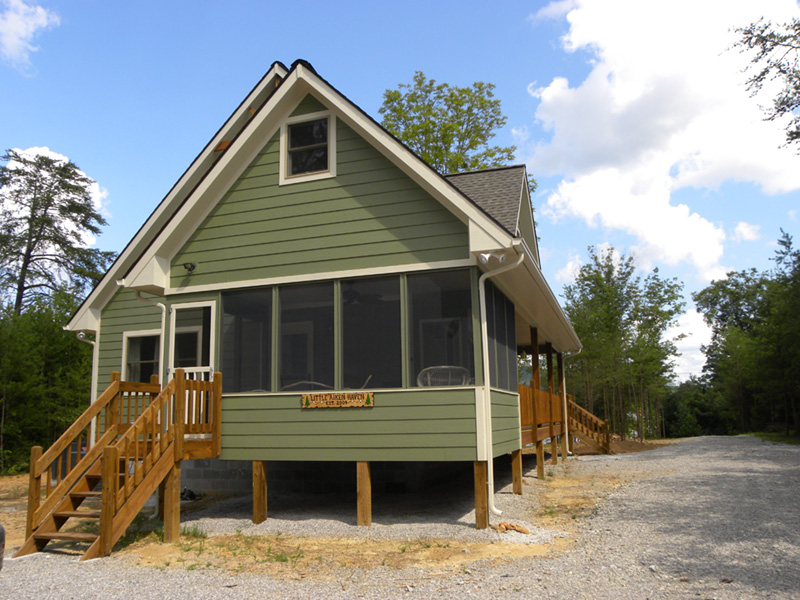 Ranch House Plan Rear Photo 01 - Adirondack Rustic Dream Home 080D-0012   House Plans and More