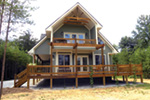 Ranch House Plan Rear Photo 02 - Adirondack Rustic Dream Home 080D-0012   House Plans and More