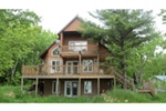 Ranch House Plan Rear Photo 03 - Adirondack Rustic Dream Home 080D-0012   House Plans and More