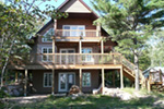 Ranch House Plan Rear Photo 04 - Adirondack Rustic Dream Home 080D-0012   House Plans and More