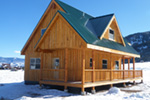Ranch House Plan Rear Photo 06 - Adirondack Rustic Dream Home 080D-0012   House Plans and More