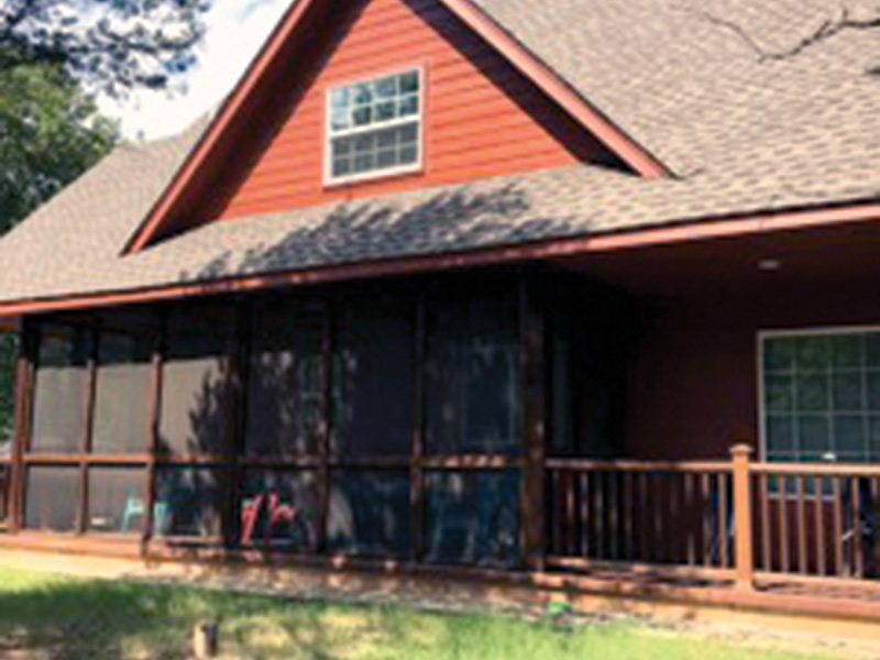 Ranch House Plan Side View Photo 01 - Adirondack Rustic Dream Home 080D-0012   House Plans and More