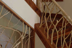 Ranch House Plan Stairs Photo - Adirondack Rustic Dream Home 080D-0012   House Plans and More