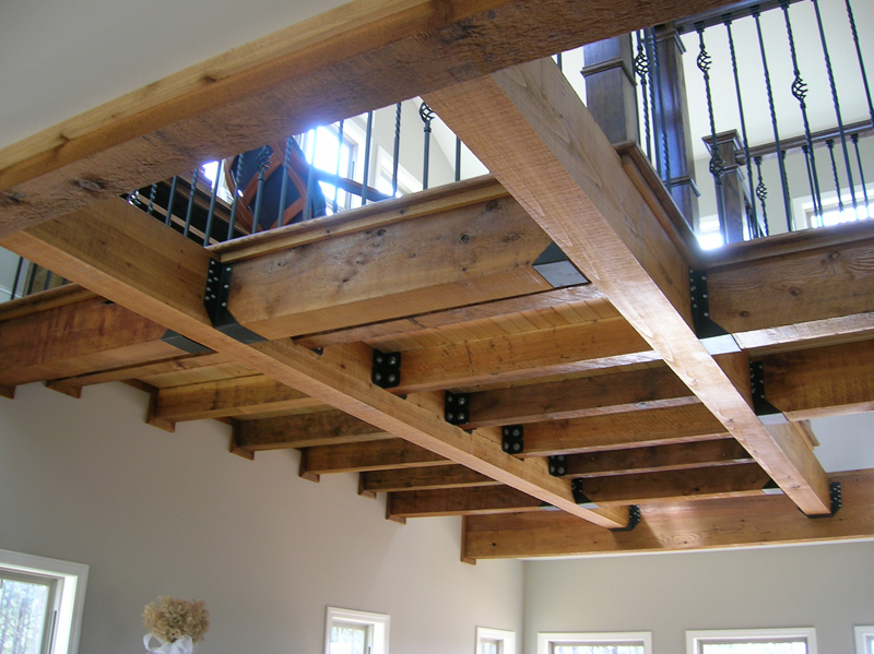 Arts & Crafts House Plan Ceiling Detail Photo - Antares Vacation Home 080D-0014 | House Plans and More