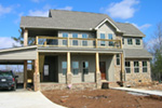 Arts & Crafts House Plan Front Photo 02 - Antares Vacation Home 080D-0014 | House Plans and More