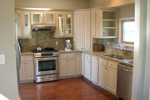 Arts & Crafts House Plan Kitchen Photo 01 - Antares Vacation Home 080D-0014 | House Plans and More
