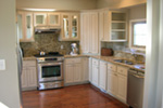 Arts & Crafts House Plan Kitchen Photo 03 - Antares Vacation Home 080D-0014 | House Plans and More