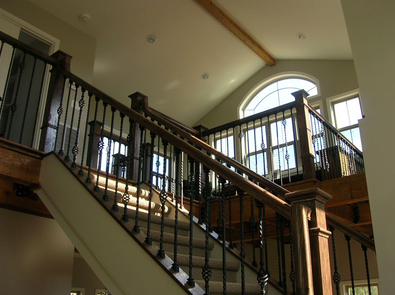 Arts & Crafts House Plan Stairs Photo - Antares Vacation Home 080D-0014 | House Plans and More