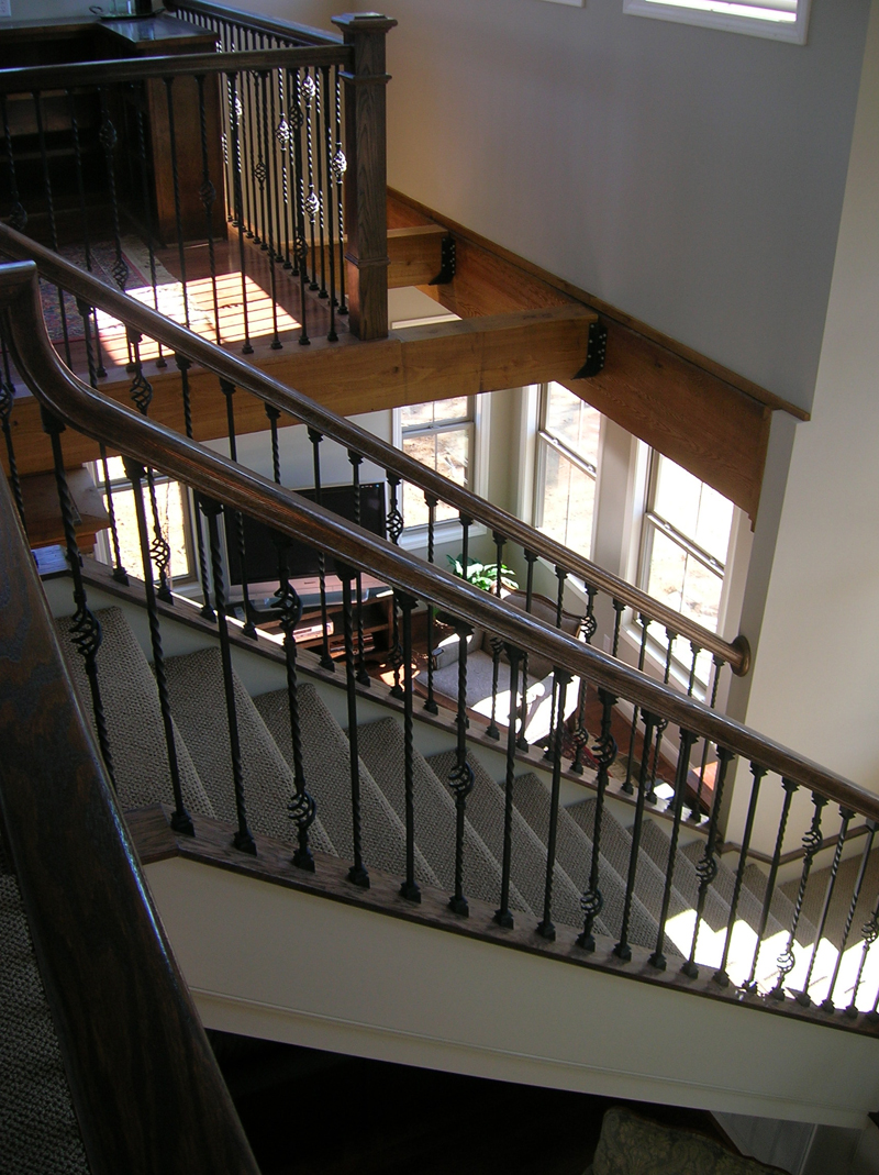 Arts & Crafts House Plan Stairs Photo 01 - Antares Vacation Home 080D-0014 | House Plans and More