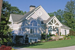Luxury House Plan Front of Home - Doe Forest Tudor Style Home 082D-0030 | House Plans and More