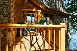 Rustic Home Plan Deck Photo 01 - Taos Luxury Mountain Home 082S-0001 | House Plans and More