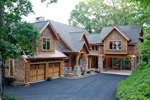082S-0001 Luxurious Mountain Craftsman Home