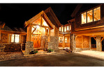 Rustic Home Plan Front Photo 01 - Taos Luxury Mountain Home 082S-0001 | House Plans and More