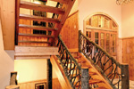 Rustic Home Plan Stairs Photo 01 - Taos Luxury Mountain Home 082S-0001 | House Plans and More