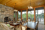 Rustic Home Plan Family Room Photo 01 - Humphrey Creek Rustic Home 082S-0002 | House Plans and More